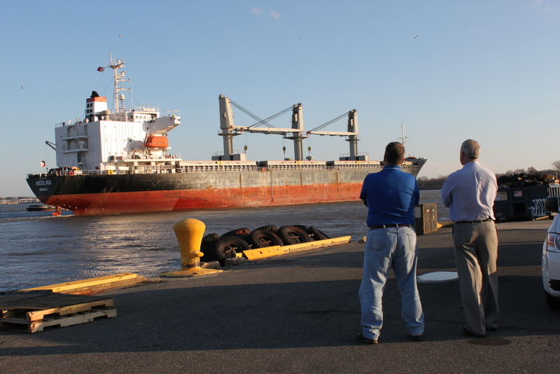 Fr. & KYW seeing Nickolina off
