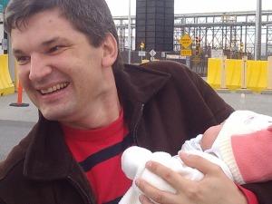 Constantine holds niece